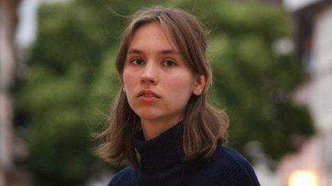 Klimaaktivistin Pauline Brünger