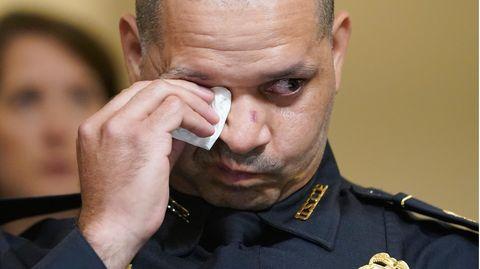 """Aquilino Gonell, Polizist der Bundespolizei """"United States Capitol Police Department"""""""