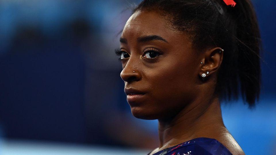 Leidet unter mentalen Problemen: Simone Biles, Superstar der US-Turnerinnen