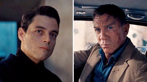 """Daniel Craig und Rami Malik in """"James Bond 007: Keine Zeit zu sterben"""""""