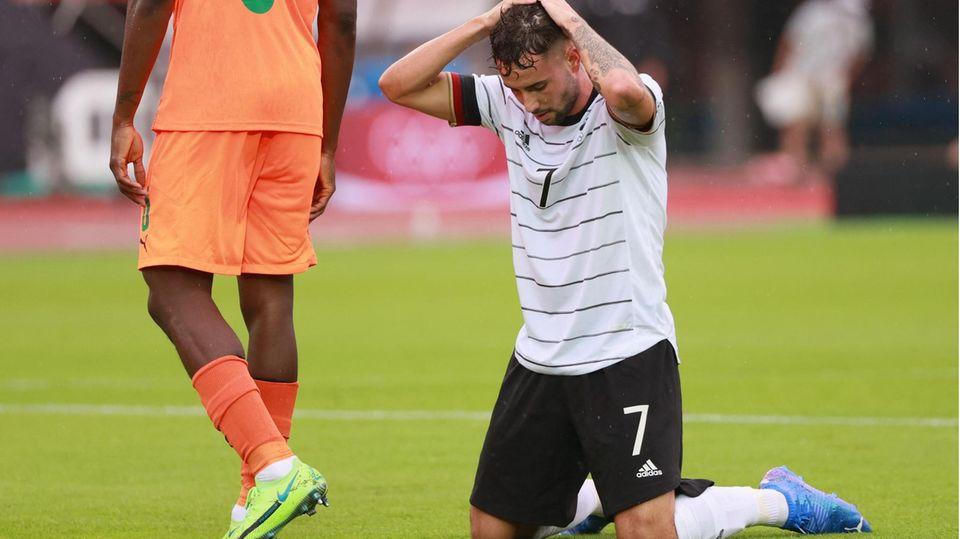 Enttäuscht: Marco Richter nach dem Aus bei Olympia