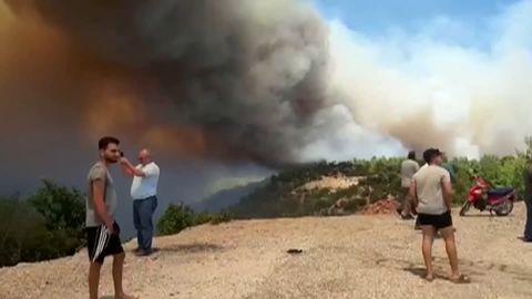 Mehrere Tote: Waldbrände bei Antalya außer Kontrolle – Auswärtiges Amt rät Reisenden zur Vorsicht