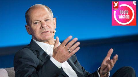 Olaf Scholz, Bundesfinanzminister und SPD-Kanzlerkandidat