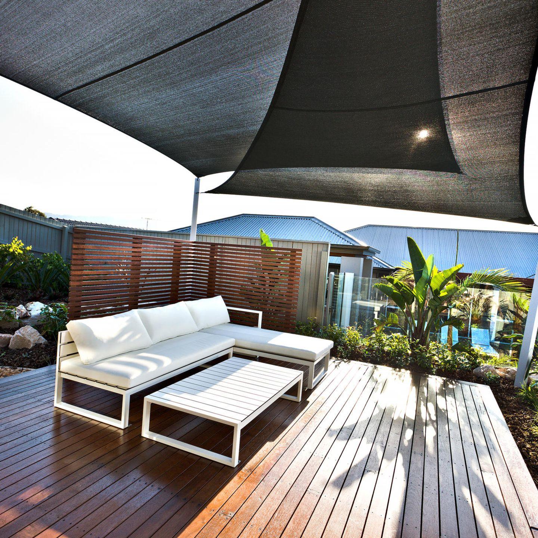 Windschutz für die Terrasse 20 Trends & Ideen für den Garten ...