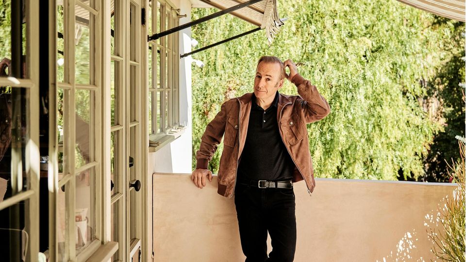 Bob Odenkirk vor seinem Haus in Los Angeles. Wochenlang hatte er für eine neue Rolle hart trainiert