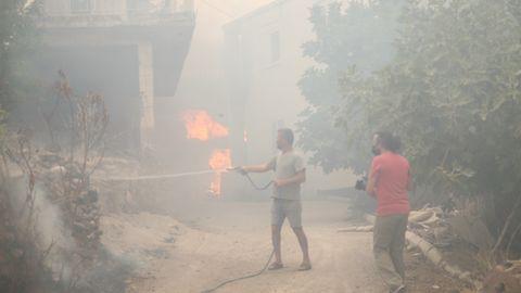Feuer in Manavgat, Antalya