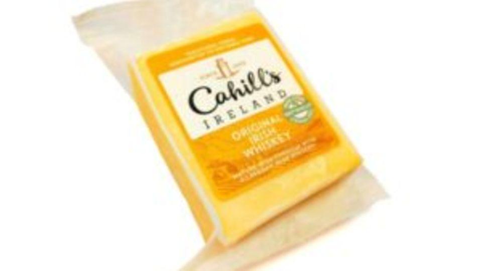 """Cahills Irish Porter Cheddar""  Käse"