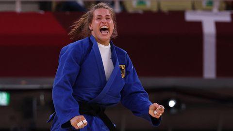 Anna-Maria Wagner, Judo, Bronzein der Gewichtsklasse bis 78 Kilogramm