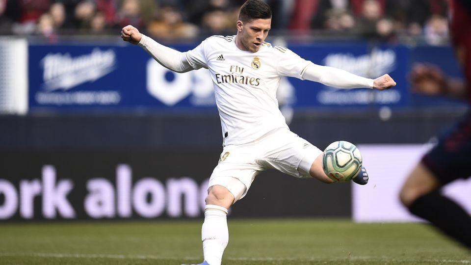 Luka Jovic Osasuna Real Madrid