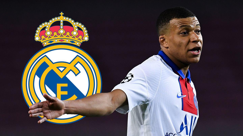 Kylian Mbappe PSG Real Madrid