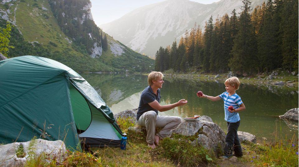 Wildcamping: Diese Regeln gelten in Deutschland und Europa.