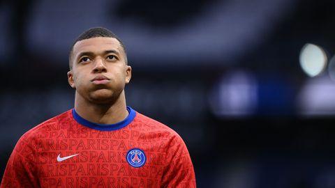 Kylian Mbappe Paris PSG