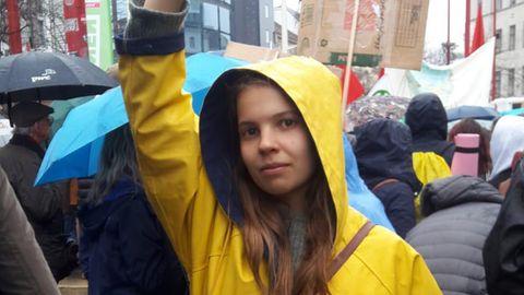 Clara Porak ist Journalistin und Umweltaktivistin