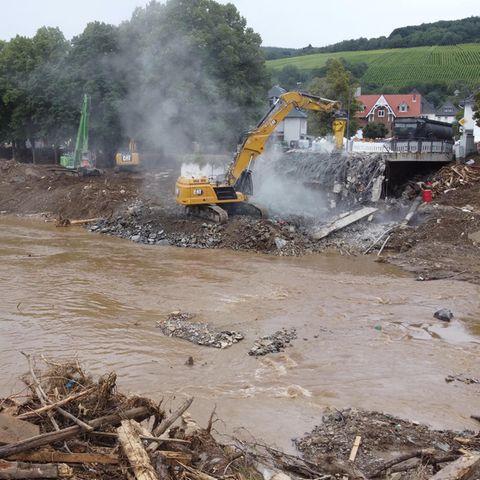 """Flutkatastrophe: """"Jahrhundertregen"""" lässt den Juli in die Geschichtsbücher eingehen"""