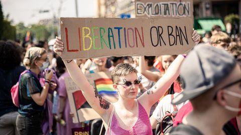 Protest gegen Diffamierung durch die eigene Regierung: Pride-March der LGBTQ-Bewegung in Budapest am vergangenen Samstag