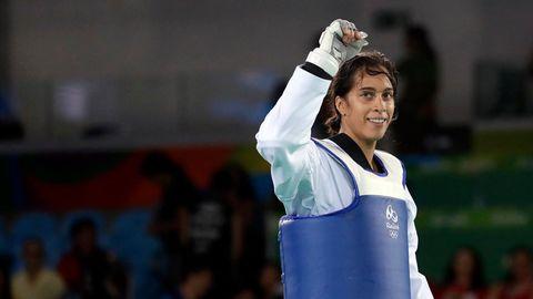 Reshmie Oogink - Taekwondo-Kämpferin aus den Niederlanden