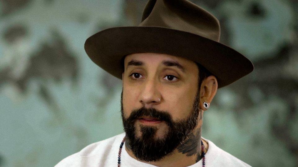 """AJ"" von den Backstreet Boys"