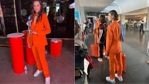 Neue Uniformen: Sneakers statt High Heels: Airline zeigt, wie modernes Flugpersonal aussehen kann