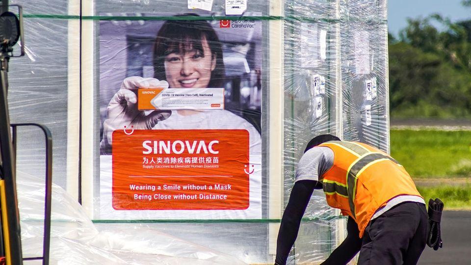 Lieferung von Sinovac