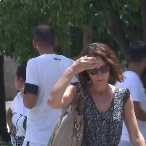 Video: Bis zu 45 Grad - Hitzewelle in Südosteuropa