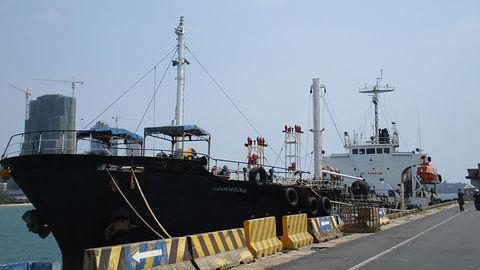 Soll illegalerweise Öl nach Nordkorea gebracht haben: Der Öltanker M/T Courageous