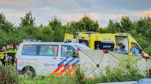 Der Unfallort in der Gemeinde IJsselstein:Noah Gesser verunglückte hier gemeinsam mit seinem Bruder
