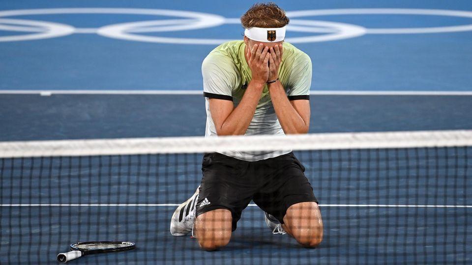 Alexander Zverev jubelt über Olympia-Gold im Tennis