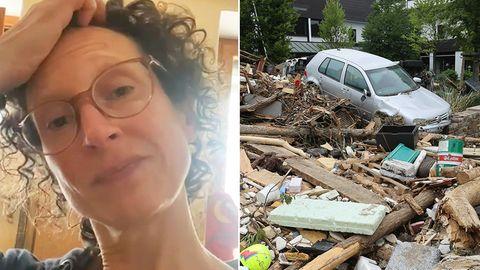 """Hochwasserkatastrophe in Deutschland: Arbeit als Reporterin im Flutgebiet: """"Wir sind keine Psychologen, keine Notfallseelsorger, keine Helfer"""""""