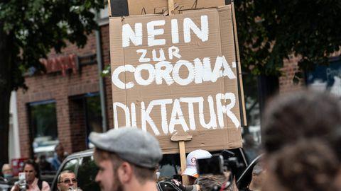 """Querdenker""-Demo Berlin: 49-Jähriger kollabiert und stirbt."