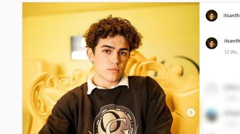 Der US-TickTock-Star Anthony Barajas