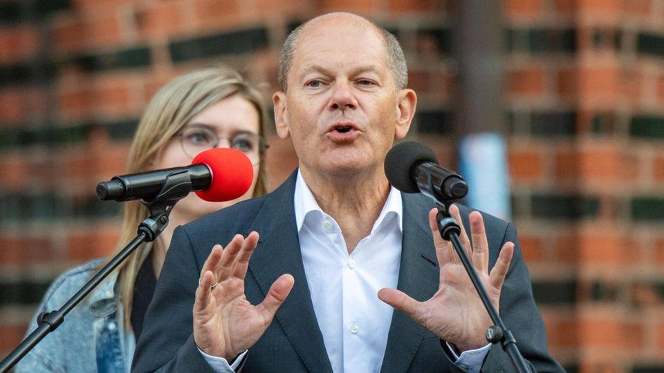 Olaf Scholz, SPD-Kanzlerkandidat und Bundesfinanzminister