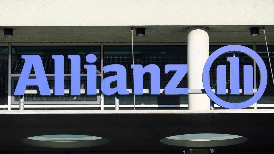 Logo der Allianz-Versicherung in München