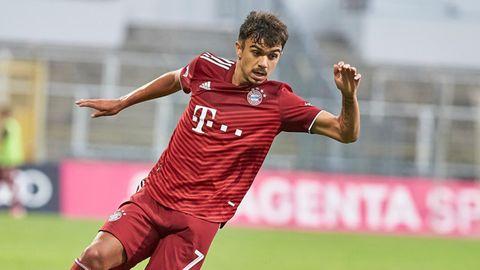 Batista Meyer im Einsatz in der Regionalliga Bayern