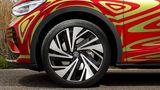 Der VW ID.5 GTX Prototyp rollt auf 21 Zoll Reifen