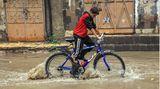 Hochwasser in Jemen