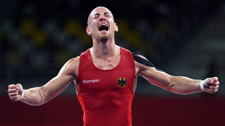 Seine Leiden in der Vorbereitung haben sich gelohnt: Ringer Frank Stäbler gewinnt Bronze