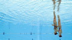 FS Synchron Nadeln unter Wasser