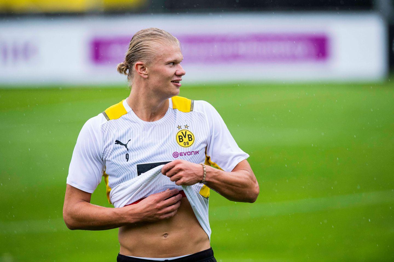 GER ONLY Erling Haaland BVB Dortmund