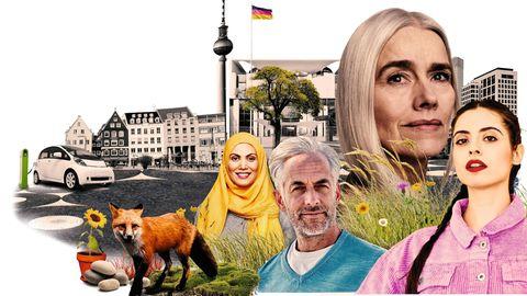 """Wie machen wir Deutschland zukunftsfähig? Der stern startet seine neue Serie """"Neustart Deutschland""""."""