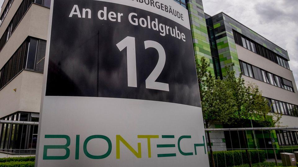 Biontech Zentrale