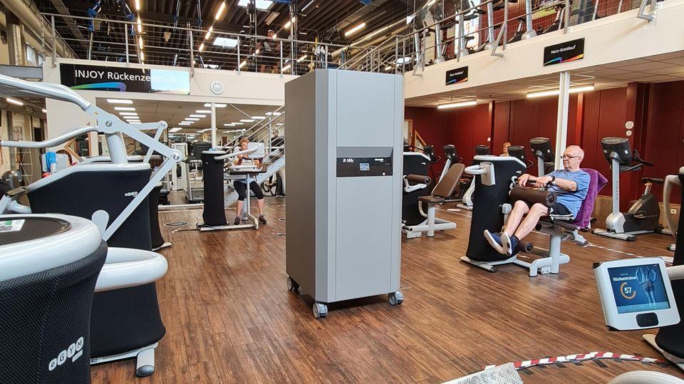 Ein Luftfilter in einem der Studios vonPaul Underberg