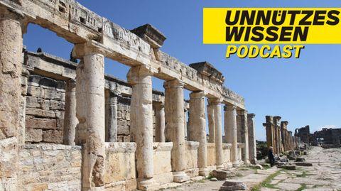 Ruinen aus dem antiken Griechenland