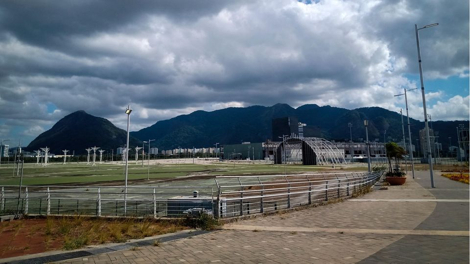 Der verfallende Olympiapark von Rio de Janeiro