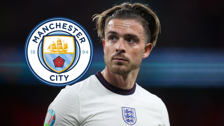 Jack Grealish England Manchester City GFX