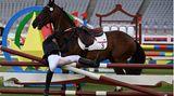 Annika Schleu und Pferd Saint Boy