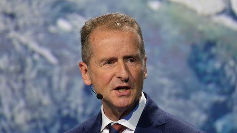Herbert Diess, Vorstandsvorsitzender der Volkswagen-AG