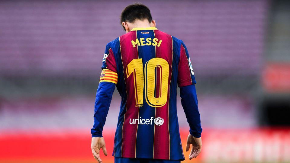 Lionel Messi Barcelona 16052021
