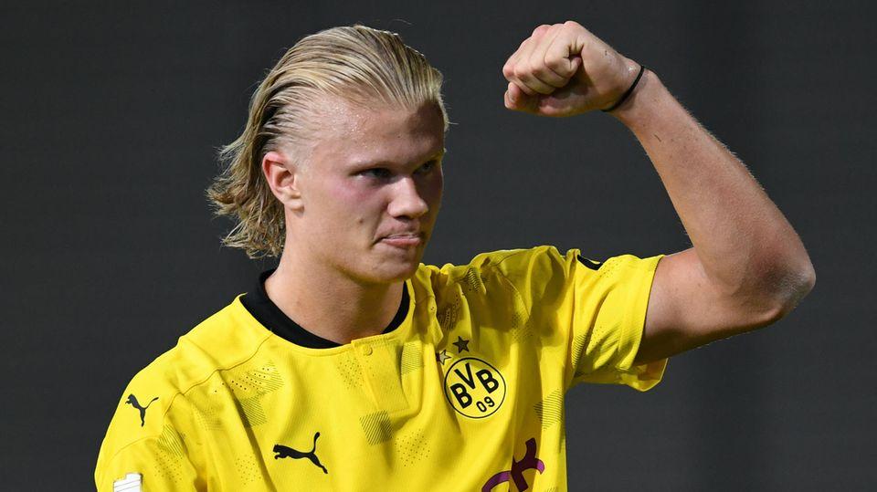 Neue Saison, doch bei BVB-Star Erling Haaland alles beim Alten