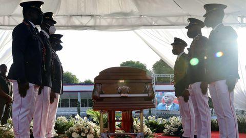 Beisetzung von Haitis PräsidentJovenel Moïse