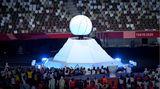 Die olympische Flamme der Sommerspiele in Tokio ist erloschen.